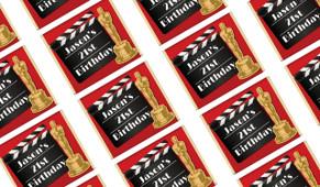 Hollywood Movie Birthday Mini Chocolates