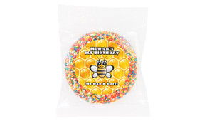 Bumble Bee Personalised Giant Chocolate Freckle
