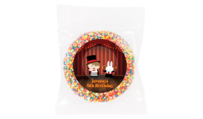 Magician Boy Personalised Birthday Chocolate Freckle