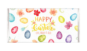 Water Colour Eggs Easter Custom Chocolates