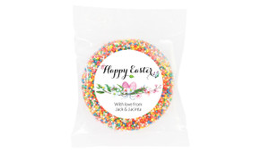 Floral Watercolour Custom Easter Giant Chocolate Freckles