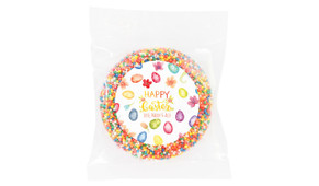 Watercolour Eggs Personalised Easter Giant Chocolate Freckles