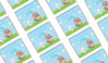 Big Egg Bunny Easter Personalised Mini Chocolates
