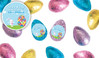Big Egg Bunny Foil Covered Chocolate Half Eggs