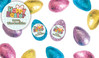 Happy Easter Personalised Chocolate Half Easter Eggs