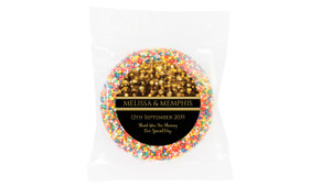 Gold Bokeh Wedding Personalised Giant Freckle
