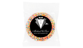 Groom And Bride Suit Wedding Personalised Giant Freckle