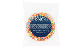 Regal Navy Blue Personalised Giant Freckle
