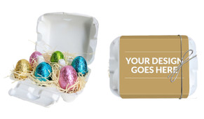 Use Your Own Design Personalised Easter Egg Carton