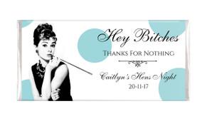 Audrey Hepburn Hens Night Chocolates