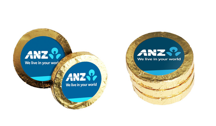 Personalised Chocolate Gold Coins