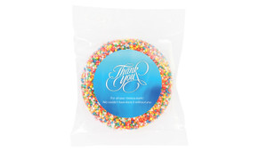 Cursive Personalised Thank You Chocolate Freckle