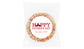 Moustache Father's Day Personalised Giant Freckle