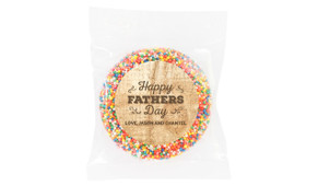 Timber Message Father's Day Personalised Giant Freckle