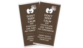 Don't Keep Calm Personalised Chocolates