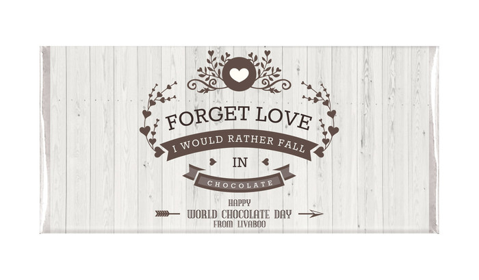 Forget Love Personalised Chocolates
