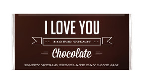 More Than Chocolate Personalised Chocolates