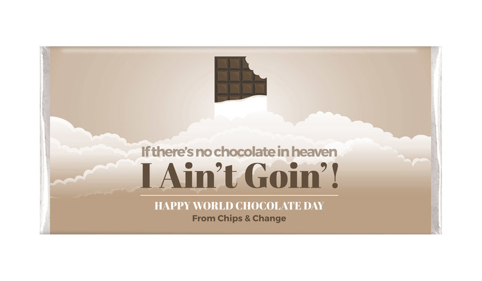 No Chocolate In Heaven Personalised Chocolates