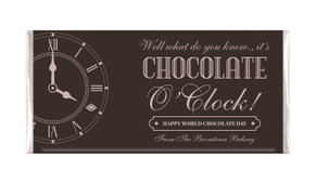 Old Clock Personalised Chocolates