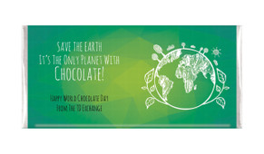 Only World With Chocolate Personalised Chocolates