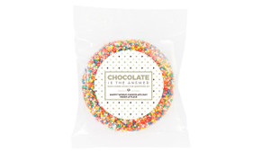 Chocolate Is The Answer Personalised Giant Freckle