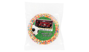 Soccer Photo Personalised Chocolate Freckle