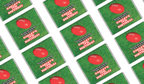 Aussie Rules Football Personalised Mini Chocolates