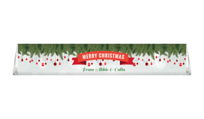 Branches & Banner Custom Christmas Toblerone Chocolates