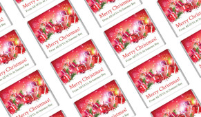 Gifts In The Snow Christmas Personalised Mini Chocolates
