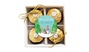 A Watercolour Christmas Ferrero Rocher Gift Box