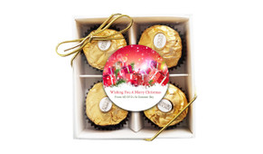 Gifts In The Snow Christmas Ferrero Rocher Gift Box