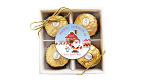 Santa's Workshop Christmas Ferrero Rocher Gift Box