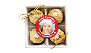 Add A Photo Christmas Ferrero Rocher Gift Box