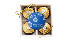 Crystal Baubles Christmas Ferrero Rocher Gift Box