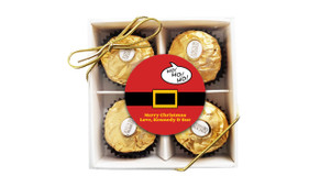 Santa Belt Christmas Ferrero Rocher Gift Box