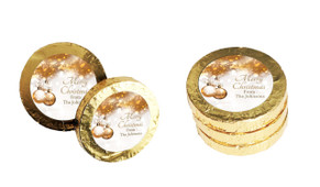 Bronzed Baubles Christmas Gold Coins