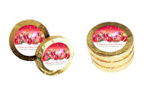 Gifts In The Snow Christmas Gold Coins