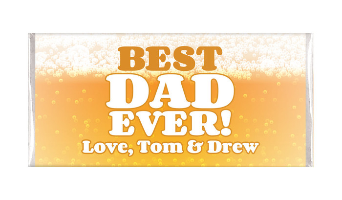 Beer Best Dad Fathers Day Chocolates
