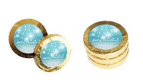 Festive Bunting Christmas Gold Coins