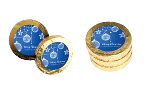 Crystal Baubles Christmas Gold Coins