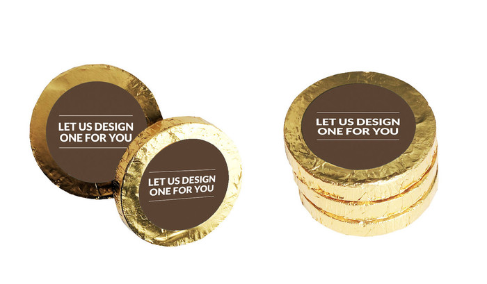 Let Us Design For You Gold Coins