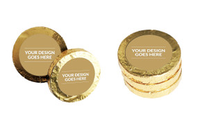 Use Your Own Design Gold Coins