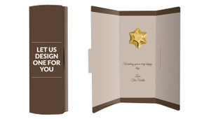 Let Us Design For You Chocolate Greeting Card