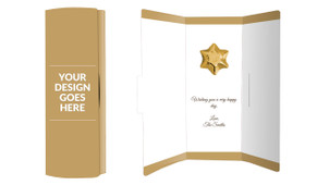 Use Your Own Design Chocolate Greeting Card