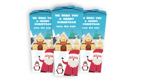 At The North Pole Christmas Personalised Chocabox