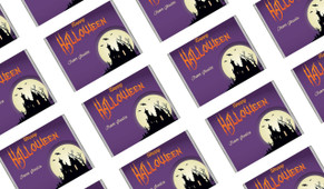 Creepy House Halloween Personalised Mini Chocolates