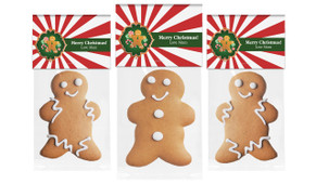 Christmas Gingerbread Man With Topper
