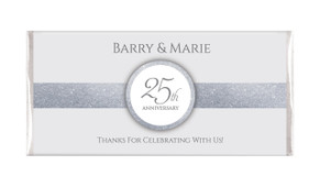 Silver Band Wedding Anniversary Chocolates