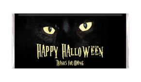 Cats Eyes Personalised Halloween Chocolate Bar