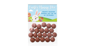 Easter Bunny Poo Personalised Lolly Bag
